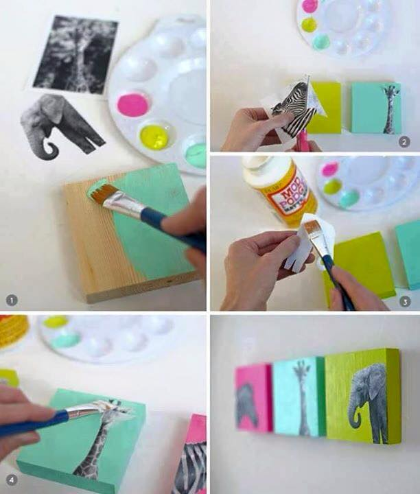 Ideas muy originales para decorar y pintar peque as for Cosas para decorar la casa