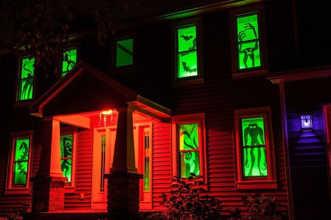 Decoracion ventanas halloween - Decoracion casa halloween ...