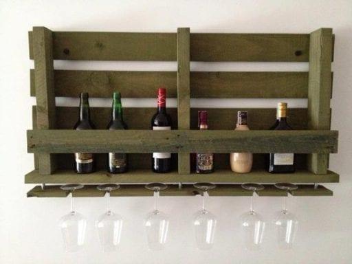 botellero con palet