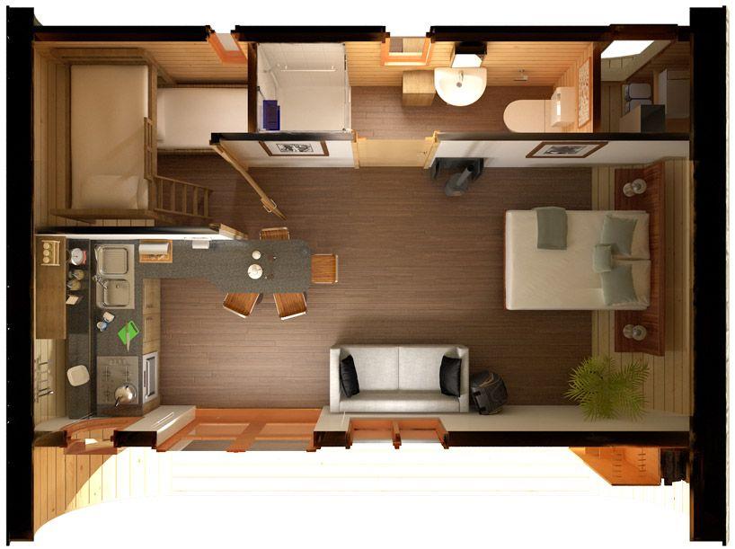 Te gustar a poder tener una casa de dise o en tan s lo 5 for Dormitorio para 4 personas