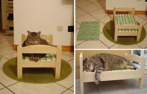 20 grandes dise os para que tu gato termine de hacerse con - Mueble arenero para gatos ...