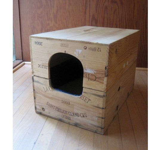 20 grandes dise os para que tu gato termine de hacerse con - Casas para gatos de madera ...