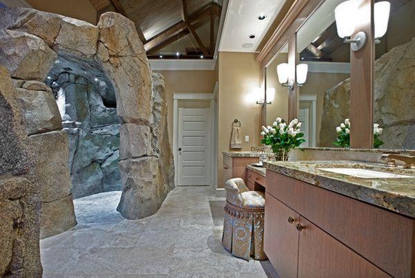duchas-creativas-originales-forma-roca