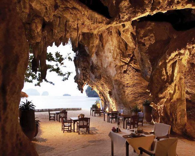 erestaurantes con las mejores vistas grotto