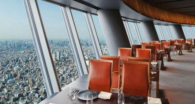 restaurantes con las mejores vistas sky