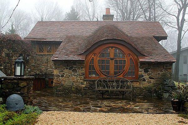 La casa hobbit para los amantes de los mundos de j r r for Hobbit inspired house