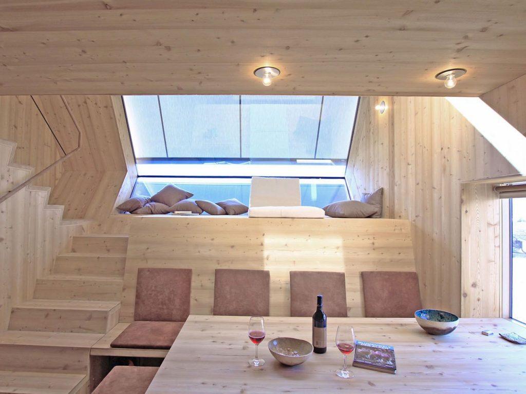 ser as capaz de pasar una noche en una casa ovni cuando