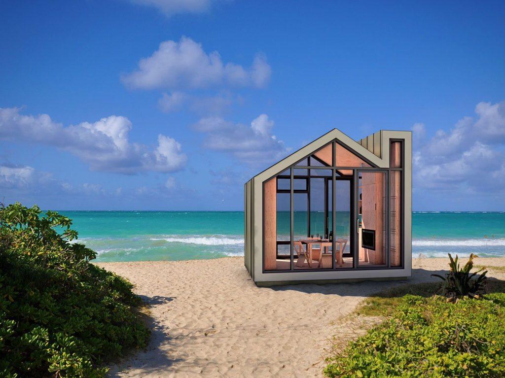 Te vas a enamorar de estas mini caba as prefabricadas for Beach house design concept