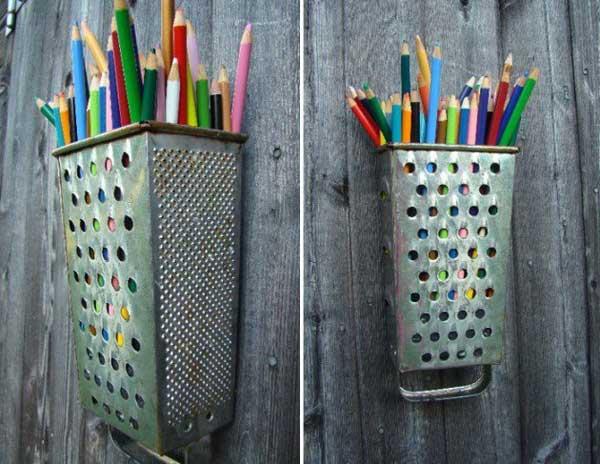 posalapices utensilios cocina reciclados ralladores