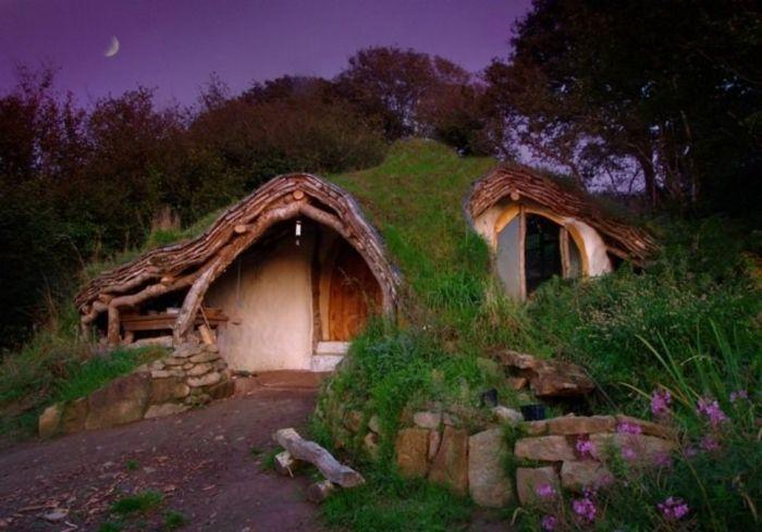 tiny house casa pequena construida tejado vegetal