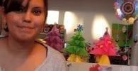 arbol de navidad origami