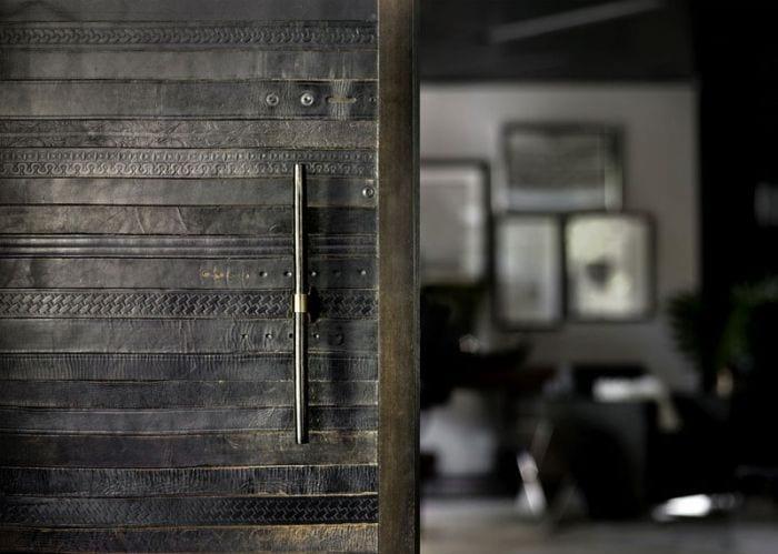 reciclar cinturones viejos puerta lujo