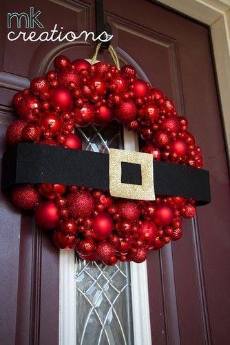 20 fant sticas ideas para decorar tu casa en navidad for Coronas de navidad hechas a mano