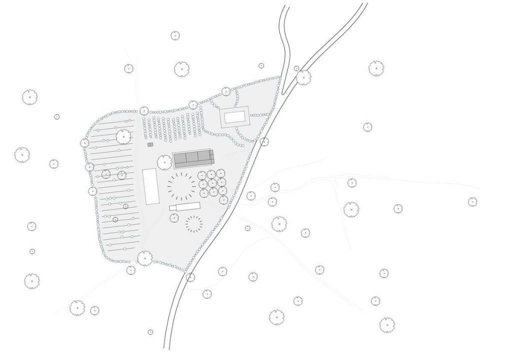 plano general proyecto escuela servicios