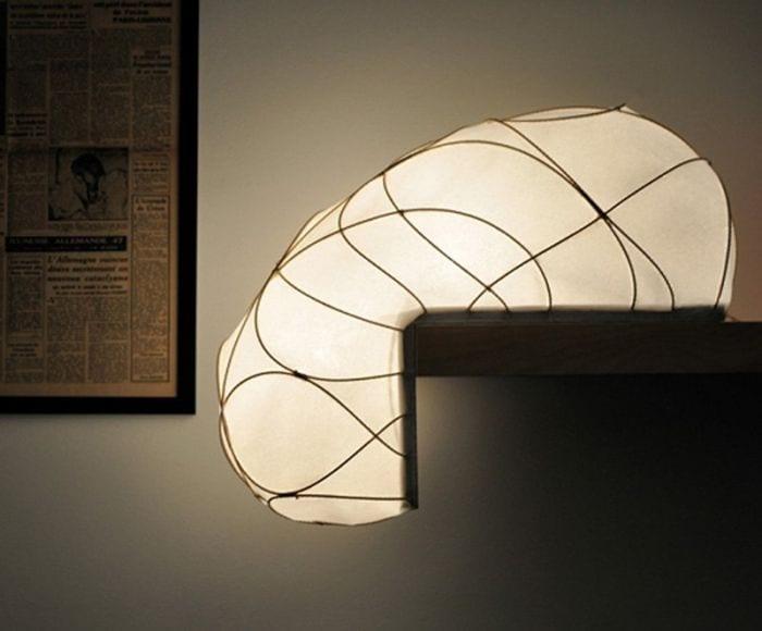 perfil lampara espectacular hilos forma L