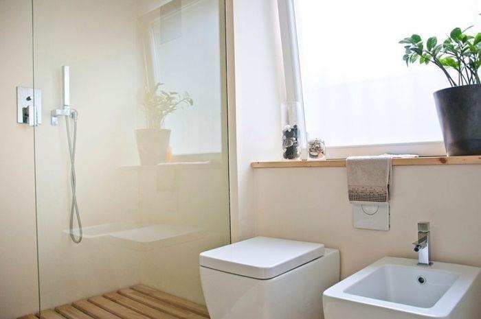 loft diseno escandinavo detalle bano ducha water bidet ventana