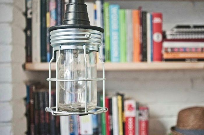 lampara biblioteca