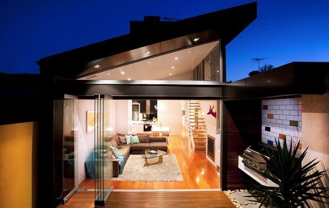 Impresionante transformaci n de una antigua terraza victoriana en vivienda moderna casas - Casas reformadas antes y despues ...