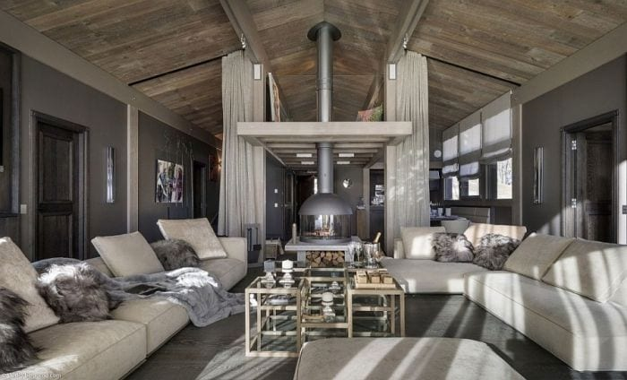 Luxury-French-Chalet-with-gray-in-the-living-space