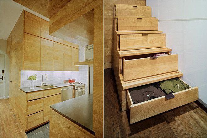 12 grandes ideas para hacer de apartamentos peque os for Diseno de interiores para espacios pequenos
