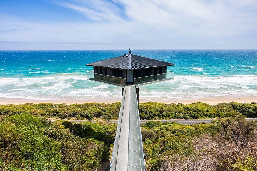 Increíble casa en Australia con efecto flotante