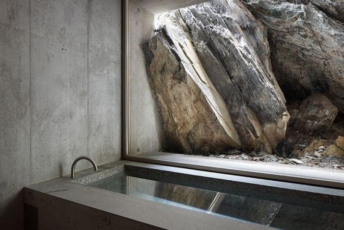 cabaña alpes suizos