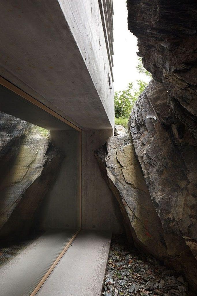refugio alpes suizos
