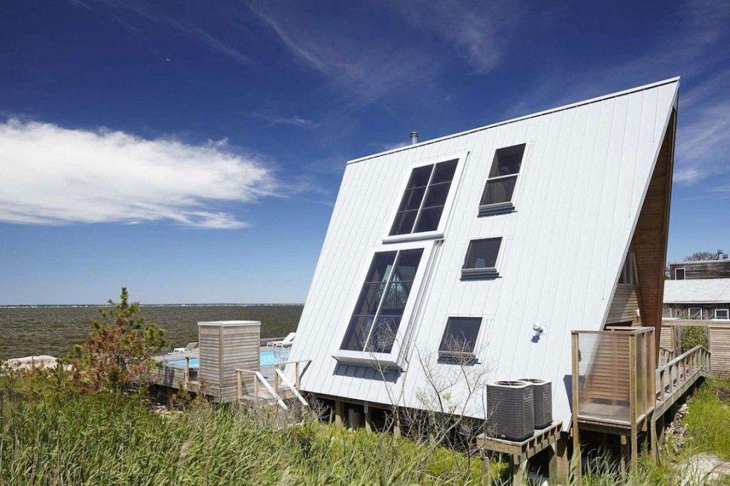 Conoce esta curiosa casa en forma de a situada en una isla de nueva york casas increibles - Apartamentos en nueva york centro ...
