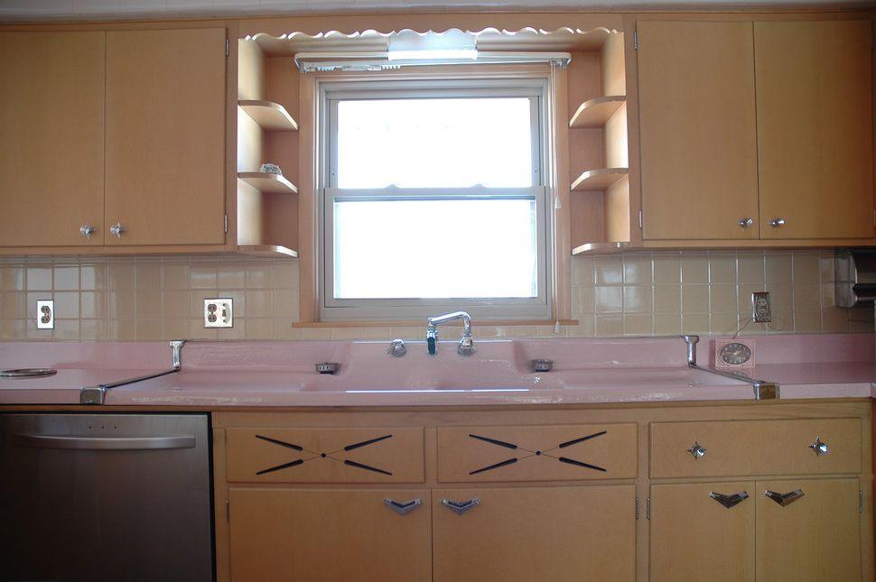Mira esta cocina de los a os 50 completamente intacta y - Cocinas retro anos 50 ...