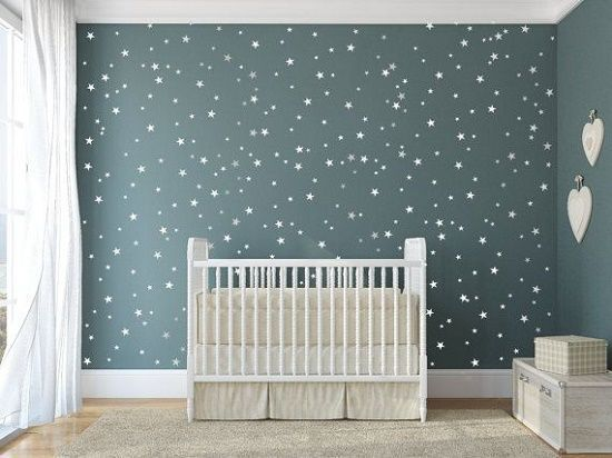 21 fant sticas ideas para decorar la habitaci n de tu beb for Cuartos decorados con estrellas