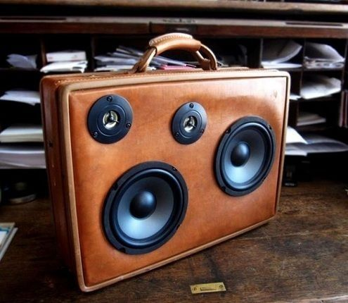 accesorios vintage altavoz