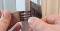 cerradura tenedor