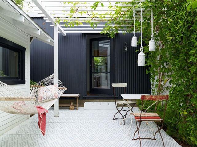 8 consejos para sacar el m ximo partido a tu patio o for Piscina en terraza peso maximo