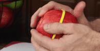 cortar manzana