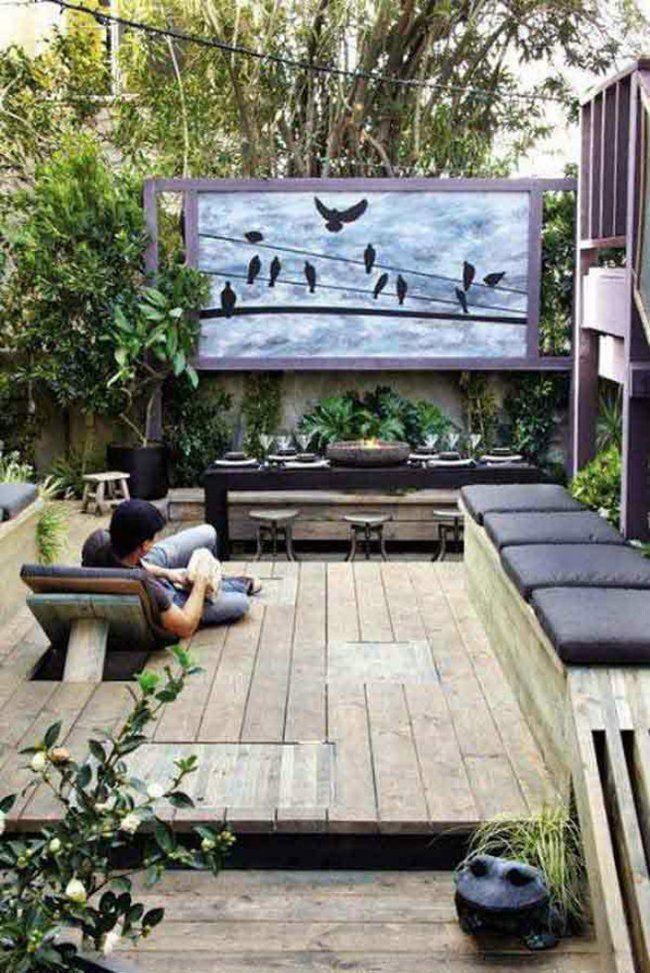 32 dise os de patios que har n que no quieras salir nunca for Modelos de patios