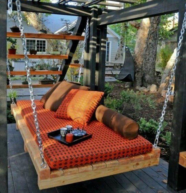 32 dise os de patios que har n que no quieras salir nunca for Muebles para patios exteriores