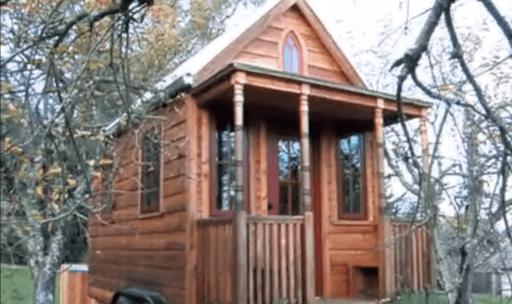 casa pequena destacada