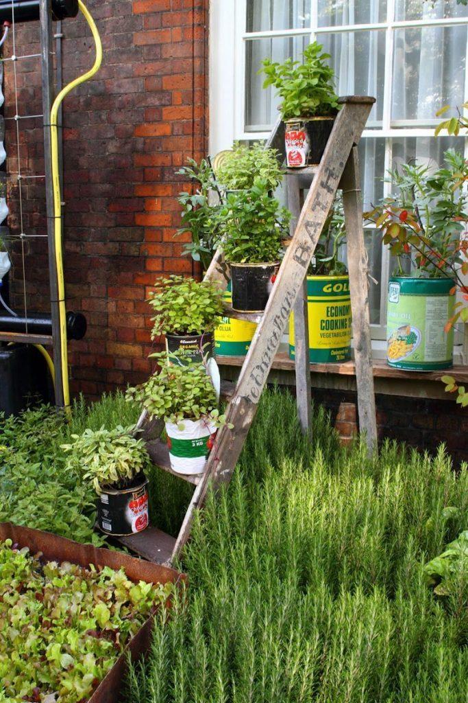 Decoraciones Para Jardines Con Material Reciclado