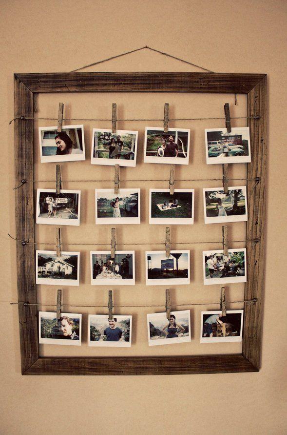 Utiliza los marcos para mucho más que enmarcar fotos y cuadros ...