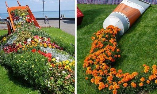 efecto flores regadas destacada