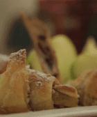 pastel manzana destacada