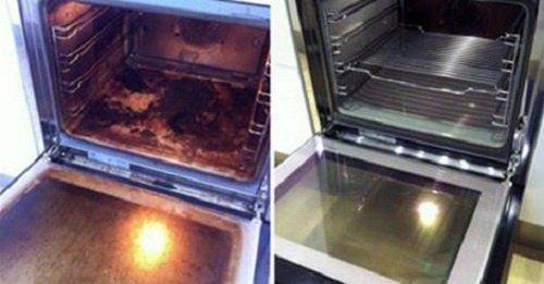 Limpiar el horno 500x261