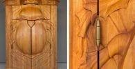 armario madera destacada