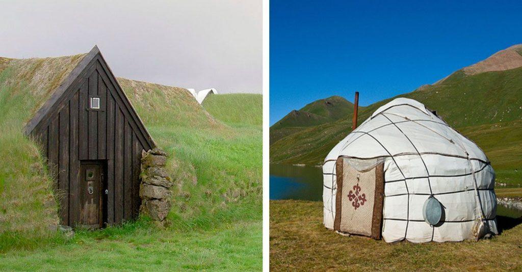 20 tipos de casas tradicionales que te puedes encontrar en todo el mundo casas incre bles - Distintos tipos de casas ...