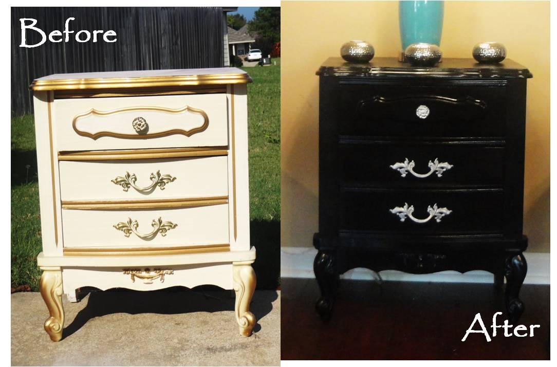 Insp rate viendo el antes y el despu s de estos muebles - Muebles antiguos restaurados ...