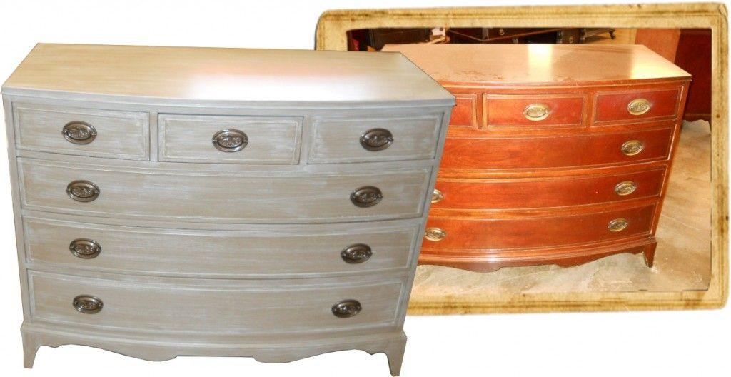 Insp rate viendo el antes y el despu s de estos muebles for Muebles antiguos restaurados antes y despues