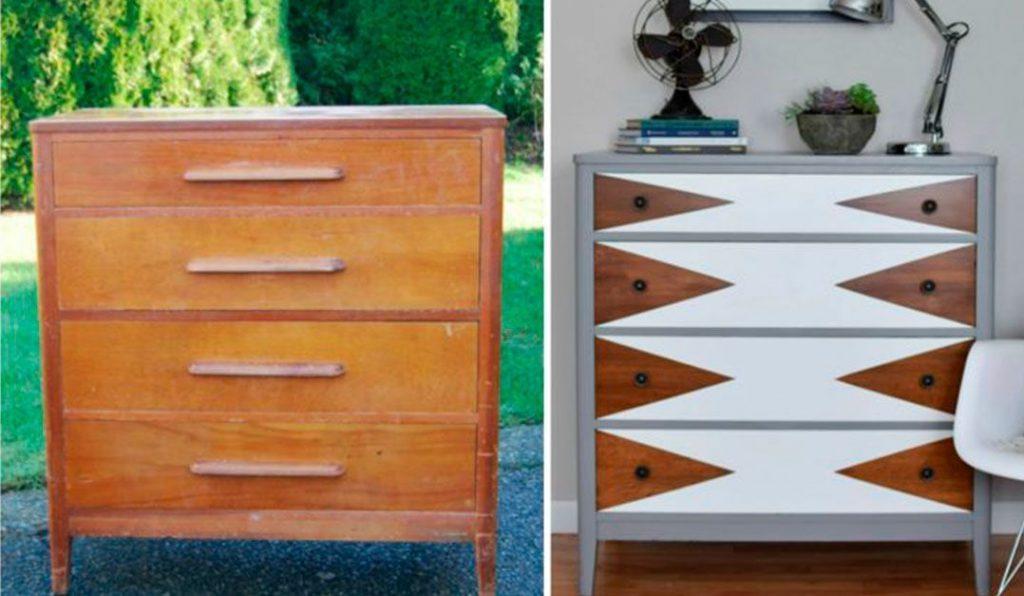 Inspírate viendo el antes y el después de estos muebles restaurados ...
