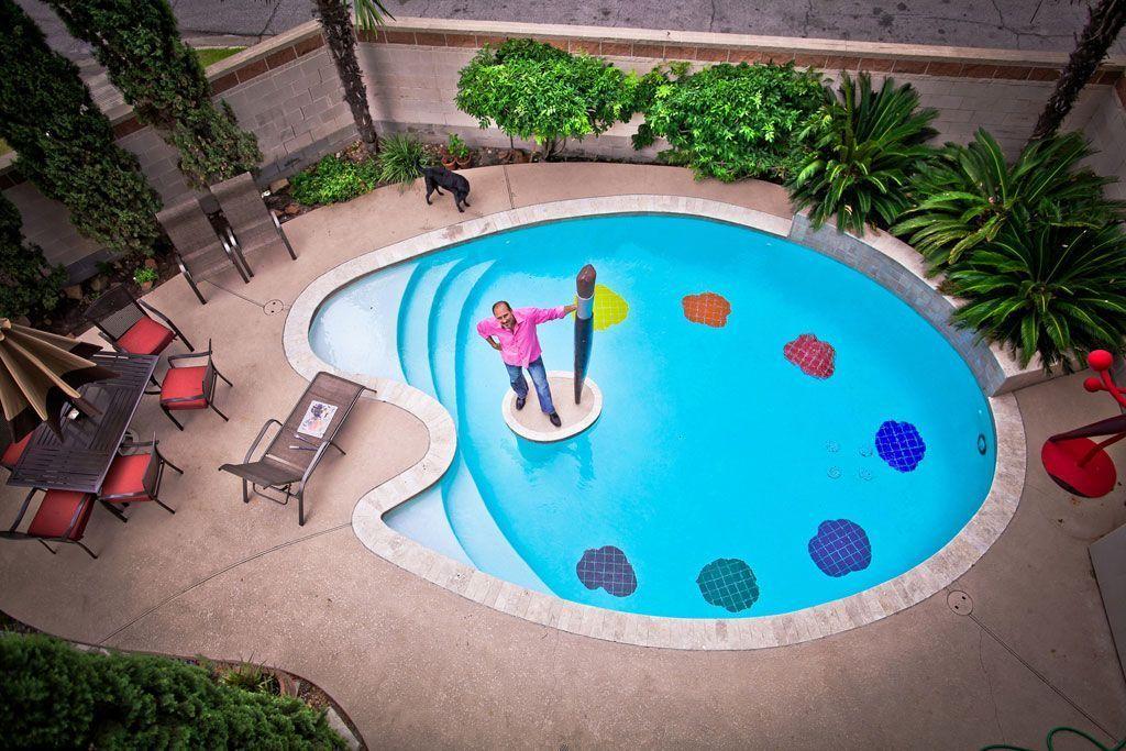 Las piscinas con los dise os m s originales que hayas for Formas de piscinas