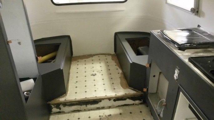 Reforman esta caravana por muy poco dinero y el resultado - Interiores de caravanas ...