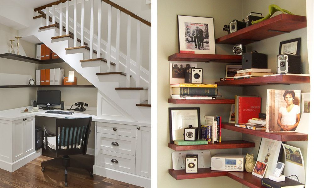 abdd5f22f5d 12 fantásticas ideas para aprovechar los rincones de tu casa - Casas ...